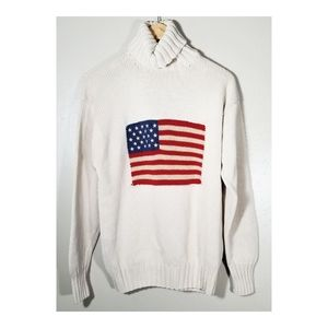 Ralph Lauren▪︎American Flag Turtleneck